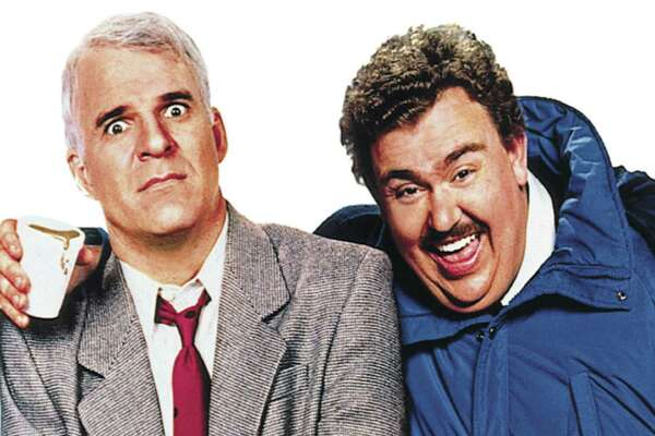 """Planes, Trains and Automobiles"" (7 p.m. Wednesday, CW): Prepare to laugh until you hurt while watching this hilarious, yet surprisingly sweet, 1987 comedy from John Hughes. Neal Page (Steve Martin), a high-strung advertising executive, meets Del Griffith (John Candy), a talkative and clumsy, but well-meaning, shower curtain-ring salesman on a three-day odyssey of misadventures as the two struggle to get Neal to Chicago in time for Thanksgiving dinner with family."