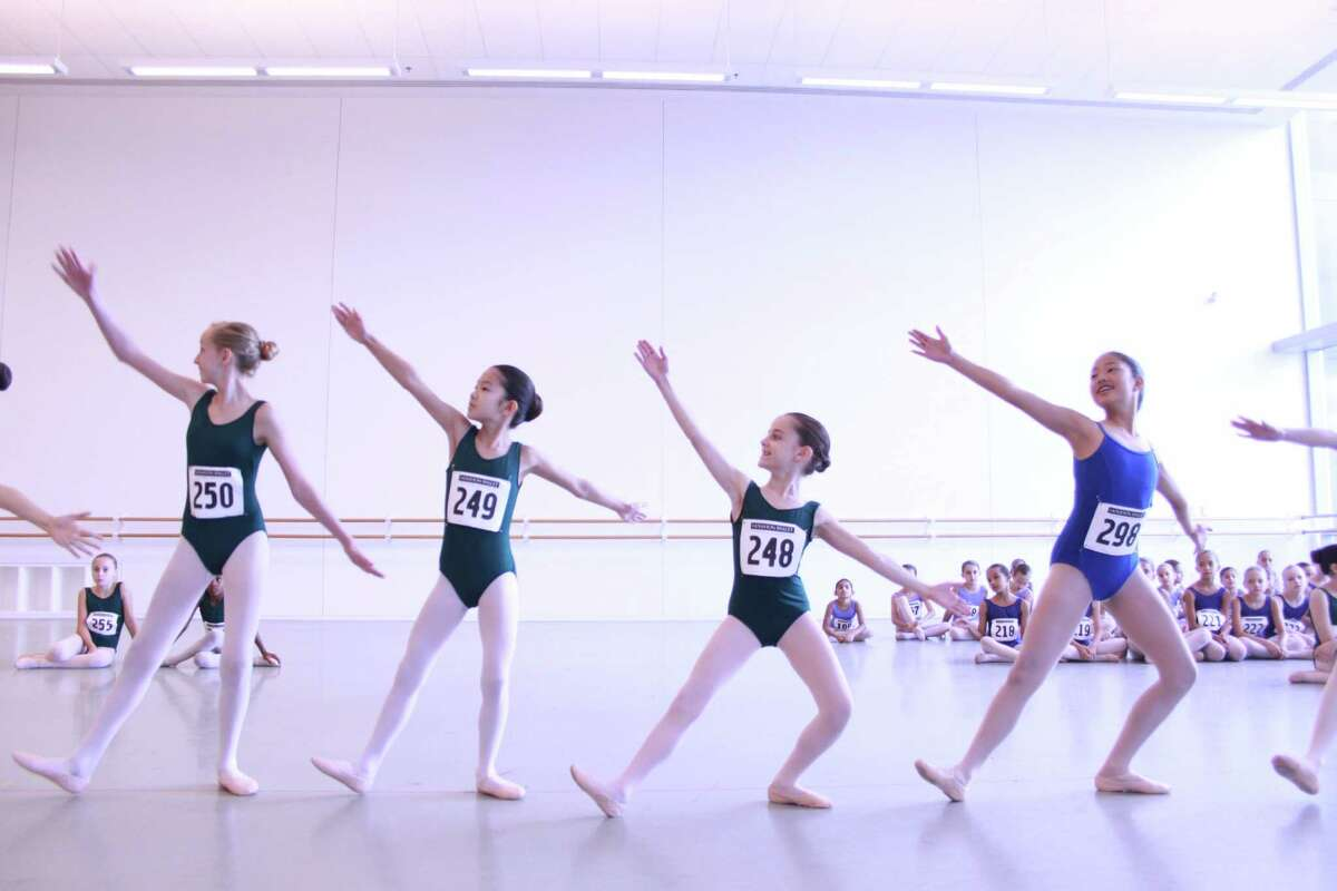 """The Houston Ballet Academy auditions young dancers annually to dance as Mother Ginger's clowns in """"The Nutcracker."""""""