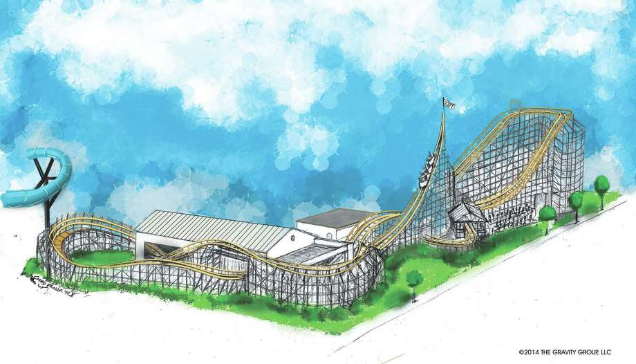Seguin's ZDT's Amusement Park will get its first roller coaster, called the Switchback, in the summer of 2015. The coaster will be the only wooden shuttle coaster in the world. Photo: Courtesy/ZDT's Amusement Park