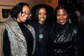 From left: Kara Ellis, Melissa Greggs and Shandolyn Arline-Johnson