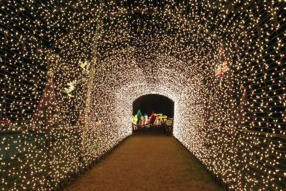 Through Jan. 1, Lakeside Park in Marble Falls is host to the annual Walkway of Lights, with more than two million holiday lights on display.