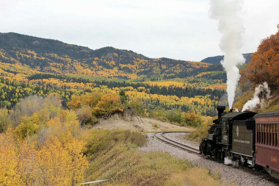 Chronicle reader Carl Aimone of Tomball took this vacation photo on the Cumbres & Toltec Scenic Railroad from Antonito, Colo. to Chama, NM. Photo: Carl Aimone / Carl Aimone