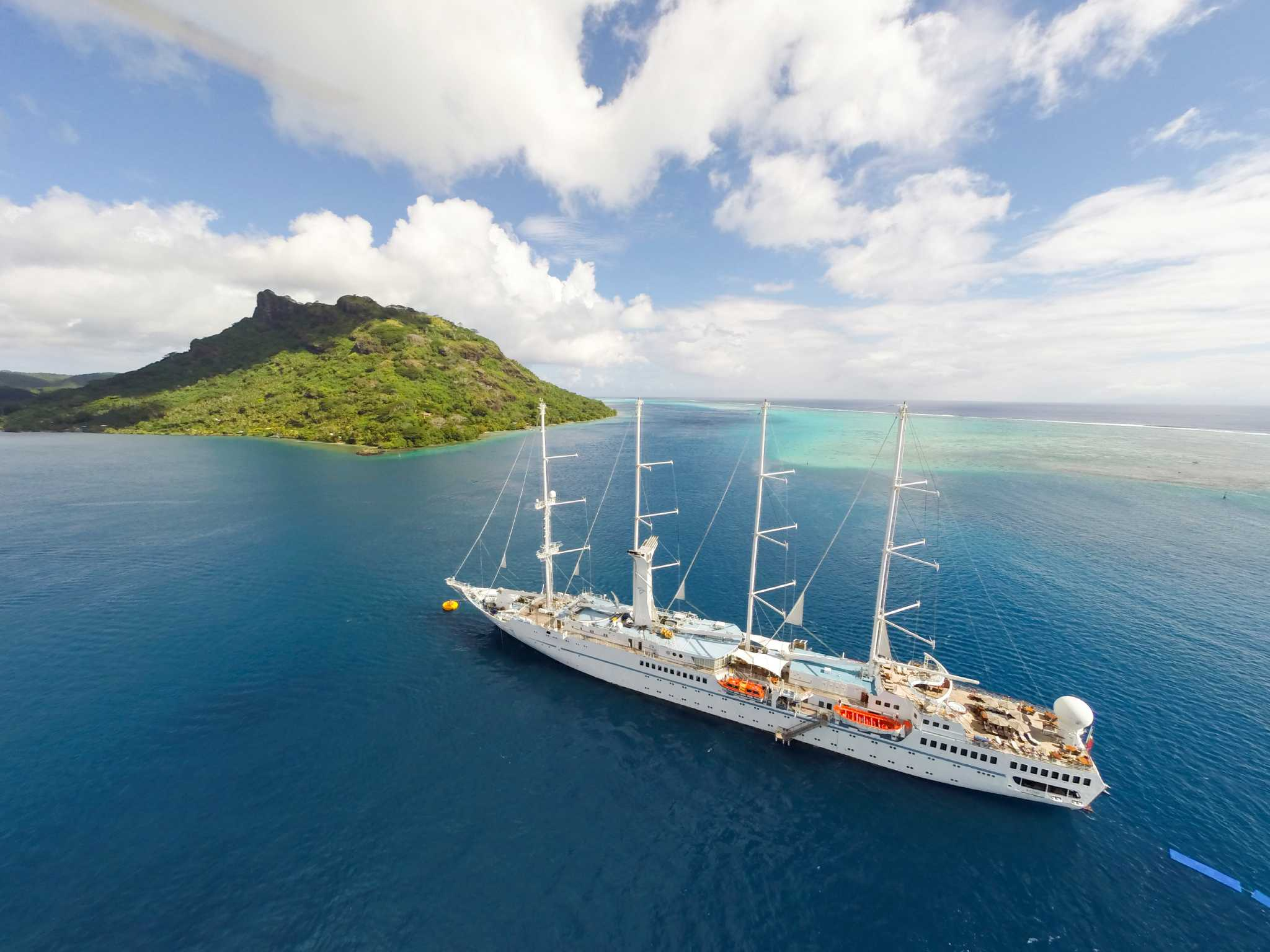 Windstar To Offer Dreamy Tahiti Cruises Year Round Houston Chronicle - Cruise to tahiti