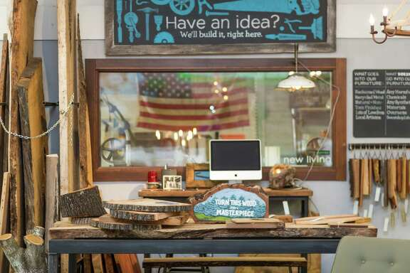 Made @ New Living has launched a website to sell furniture, lighting and accessories made from salvaged local materials.