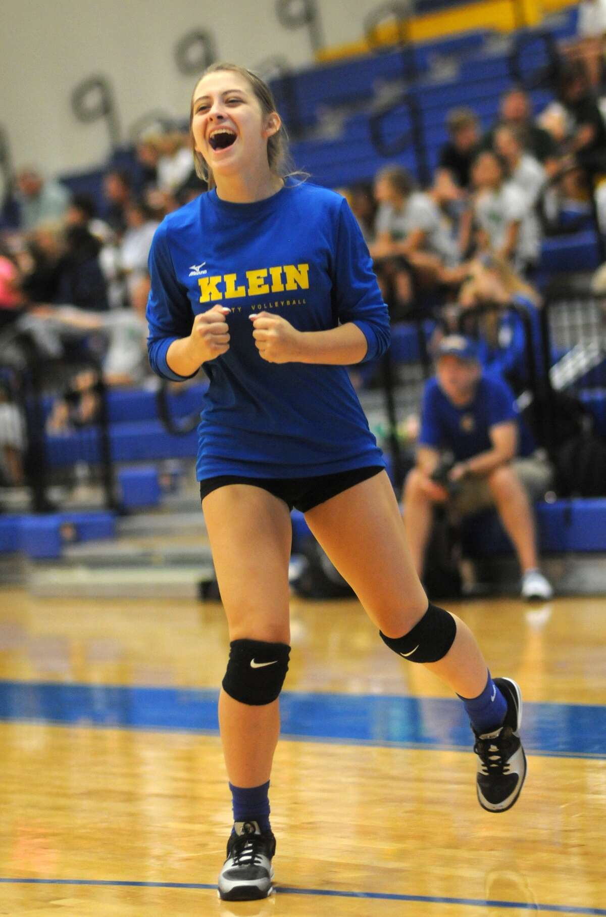 The play of Klein sophomore defensive specialist Madison Prosise is one of the reasons the future looks bright for the Bearkats.
