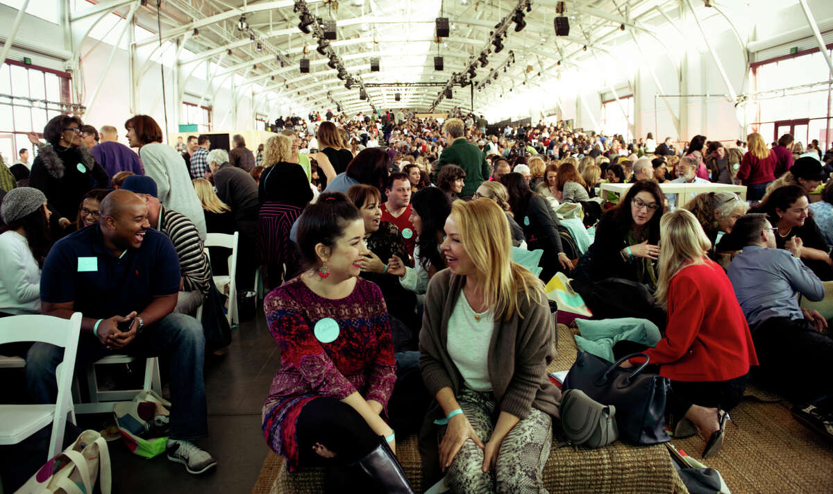 About 1,500 hosts from 40 countries converge on Fort Mason for Airbnb Open, a conference to inspire hosts and offer advice.