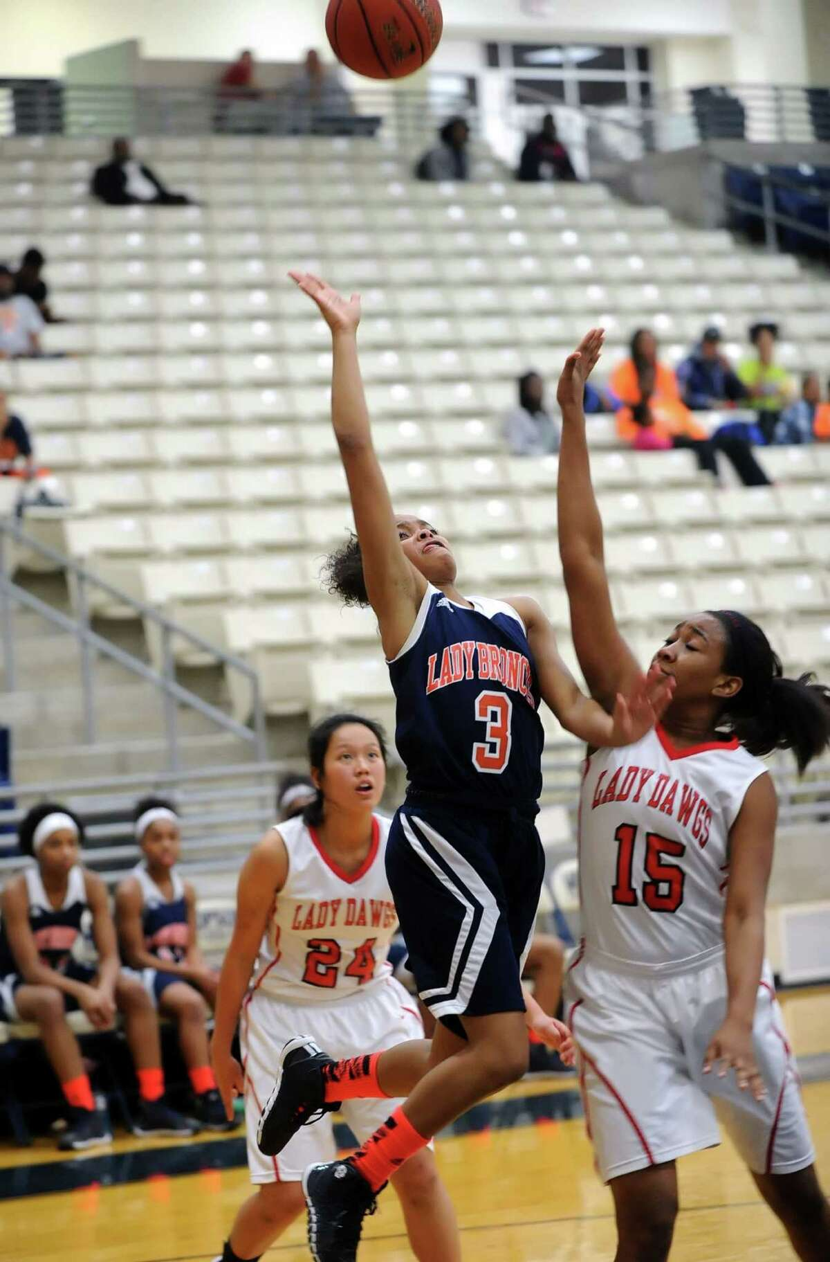 Fort Bend Bush's Taylor Perry has started the season averaging over 10 points per game.