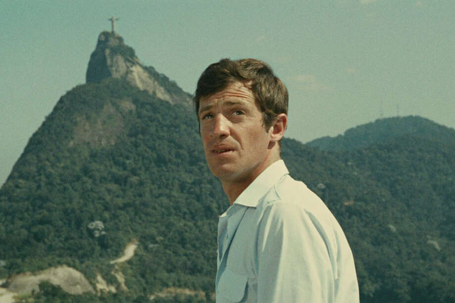 """The monthly French Cinematheque series at the Avon Theatre showcases the best French films, new and old. On Dec. 11, a restored version of the 1964 comedy adventure film """"That Man from Rio,"""" starring Jean-Paul Belmondo, will be shown at the non-profit Stamford venue. Photo: Contributed Photo / Connecticut Post Contributed"""