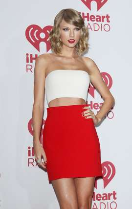 Taylor Swift attends the iHeart Radio Music Festival - press room held at MGM Grand Resort and Casino on September 19, 2014 in Las Vegas, Nevada.