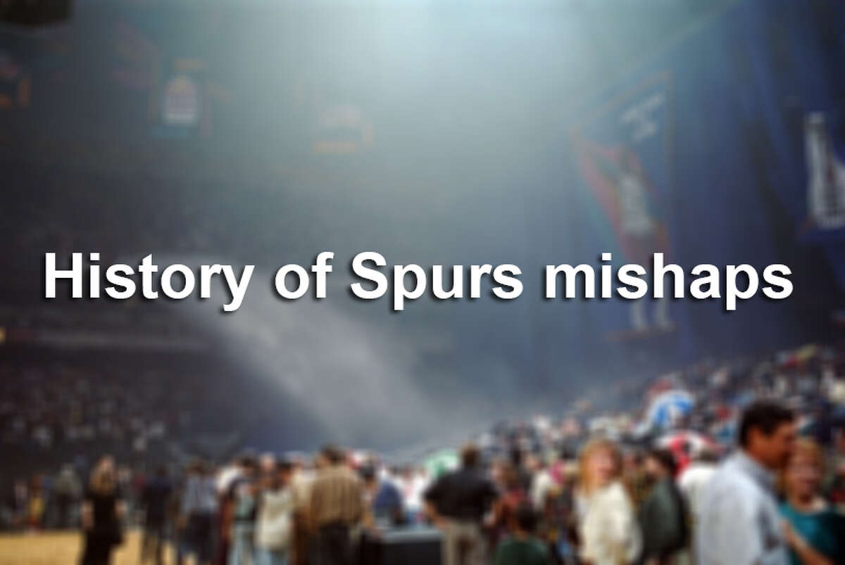 History of Spurs mishaps.