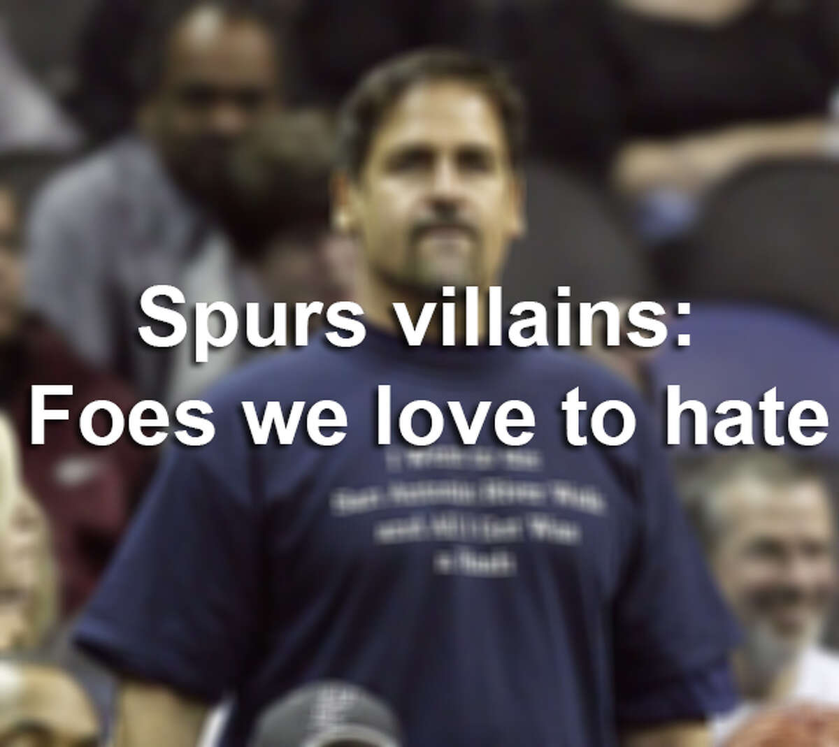 Spurs villains: Foes we love to hate.