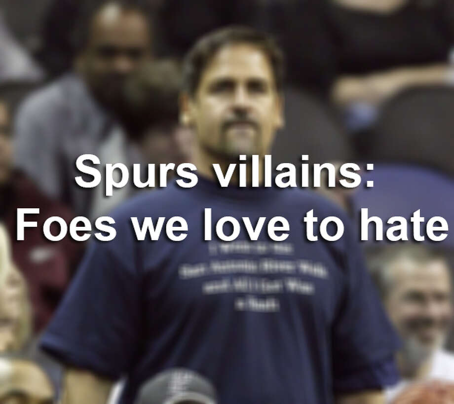 Spurs villains: Foes we love to hate. Photo: File Photo