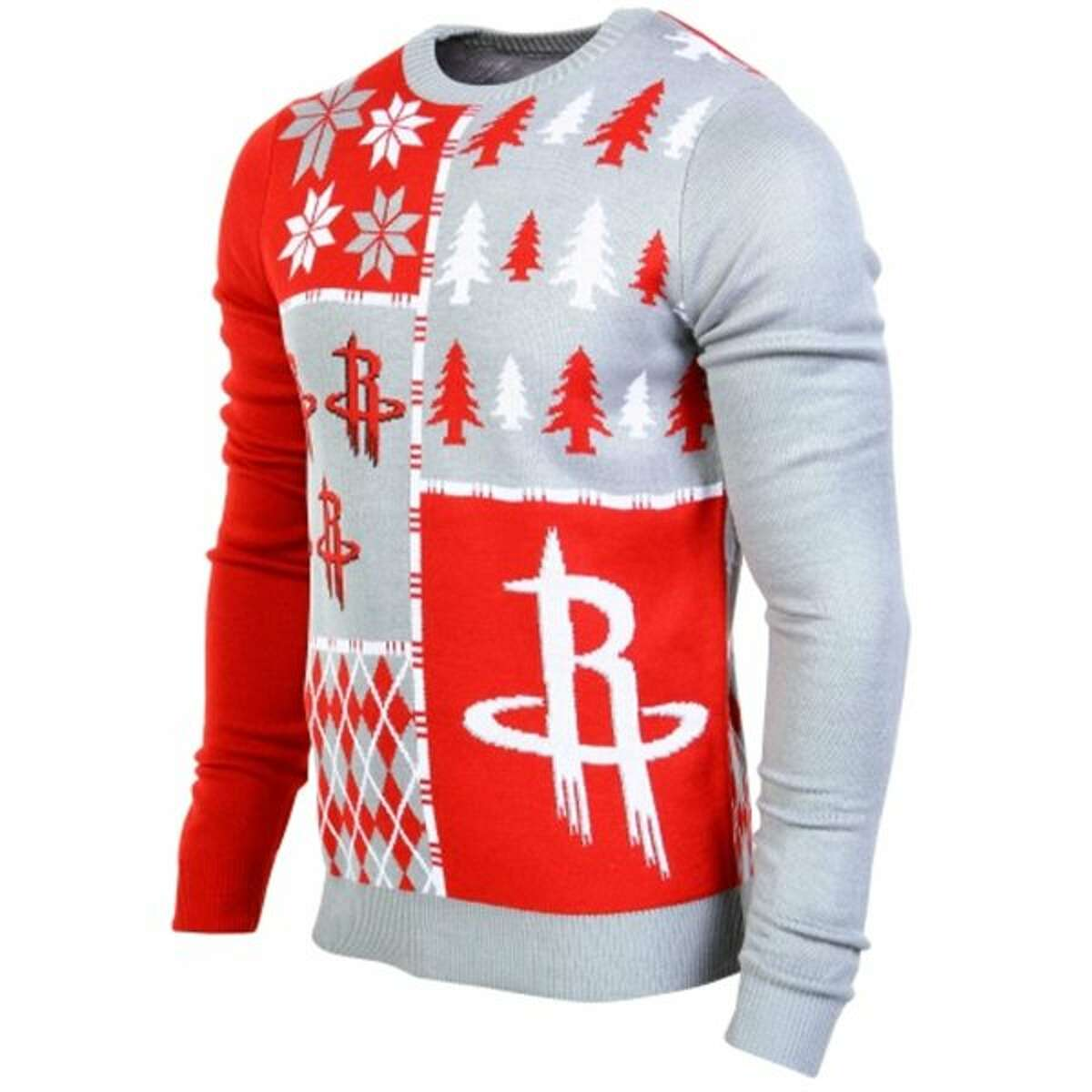 New this year and just in time for the holidays is the Houston Rockets Ugly Sweater, available exclusively on Fanatics.com.