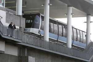 BART's new airport link grounded by piece of plastic - Photo