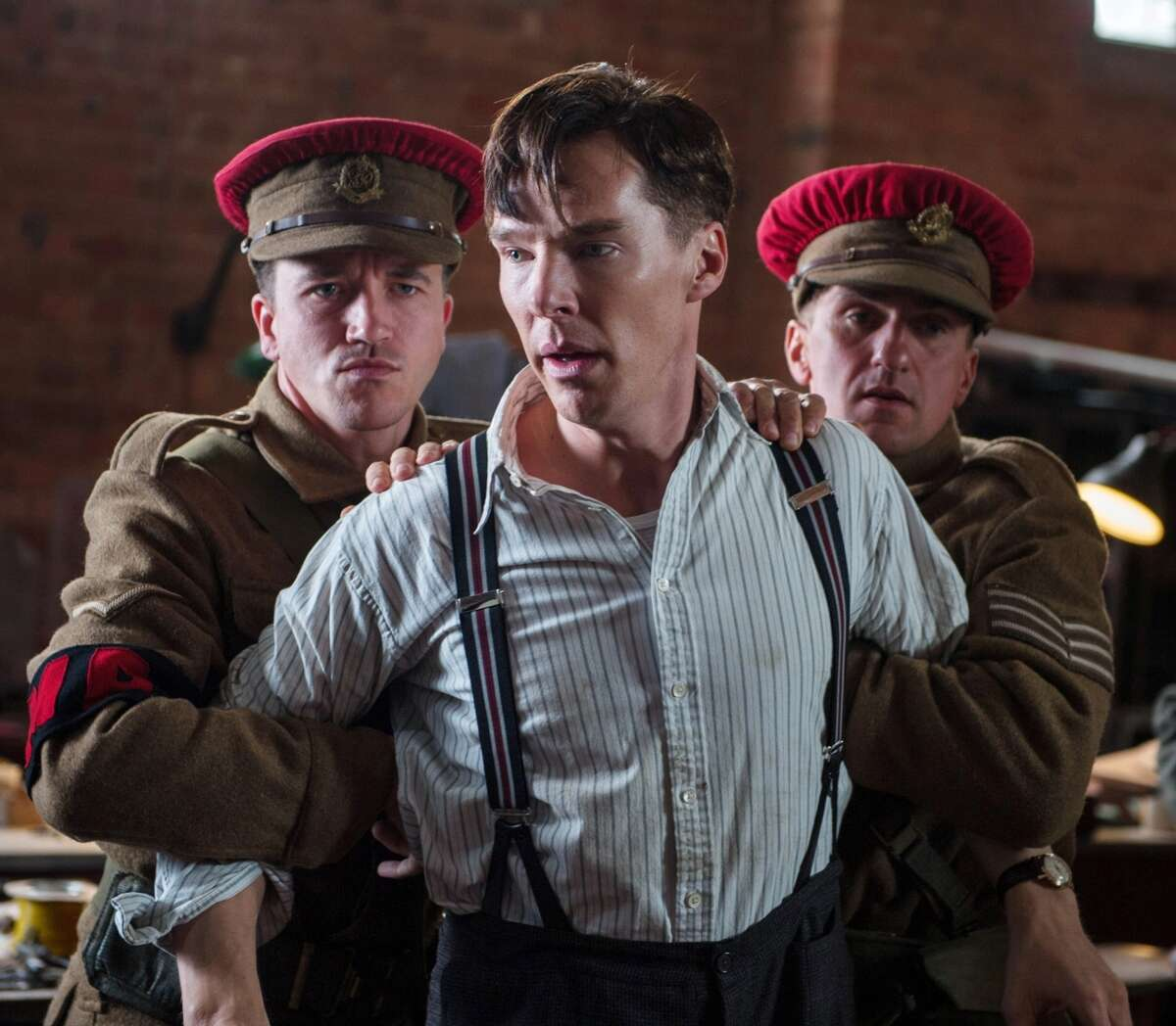 Benedict Cumberbatch stars as British mathematician Alan Turing in