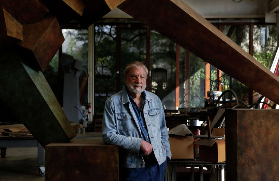 "World-renowned Oakland sculptor Bruce Beasley says the purpose of the project ""is to enrich the city."" Photo: Terray Sylvester / The Chronicle / ONLINE_YES"