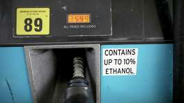 Opponents of the renewable fuel standard say it could force refiners to blend more ethanol into U.S. gasoline than the 10 percent portion approved for all engines.   (Photo by Joe Raedle/Getty Images)