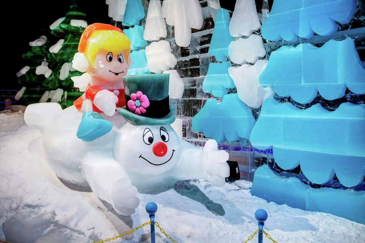 Grapevine's ICE! exhibit at the Gaylord Texan Resort is a perennial holiday favorite in north Texas.