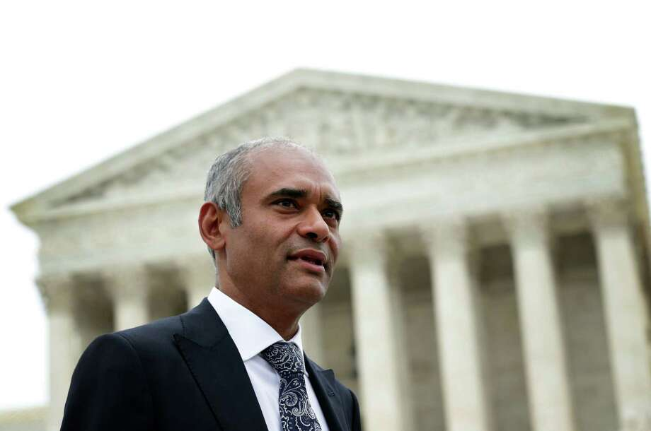 The U.S. Supreme Court has ruled against the internet streaming tv company Aereo August 24, 2014, siding with broadcasters suing the company for taking over-the-air broadcast signals and sending them over the internet. WASHINGTON, DC - APRIL 22:  Aereo CEO Chet Kanojia leaves the U.S. Supreme Court after oral arguments April 22, 2014 in Washington, DC. The Supreme Court heard arguments in a case against Aereo on the companys profiting from rebroadcasting network TVs programs obtained from public airwaves.  (Photo by Alex Wong/Getty Images) Photo: Alex Wong, Staff / 2014 Getty Images