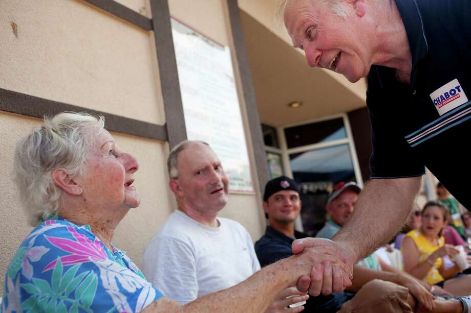 Steve Chabot greets voters in Cincinnati in 2010. He will become chair of the House Small Business Committee in 2015.  Photo: ANDREW SPEAR, STR / NYTNS