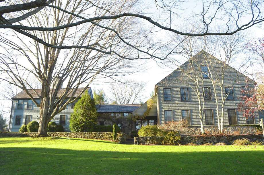 The 10.46-acre estate at 277 and 275 North Ave. is on the market for a total of $9,898,000. It encompases three homes and two barns, but they can be sold separately. Photo: Contributed Photo / Westport News