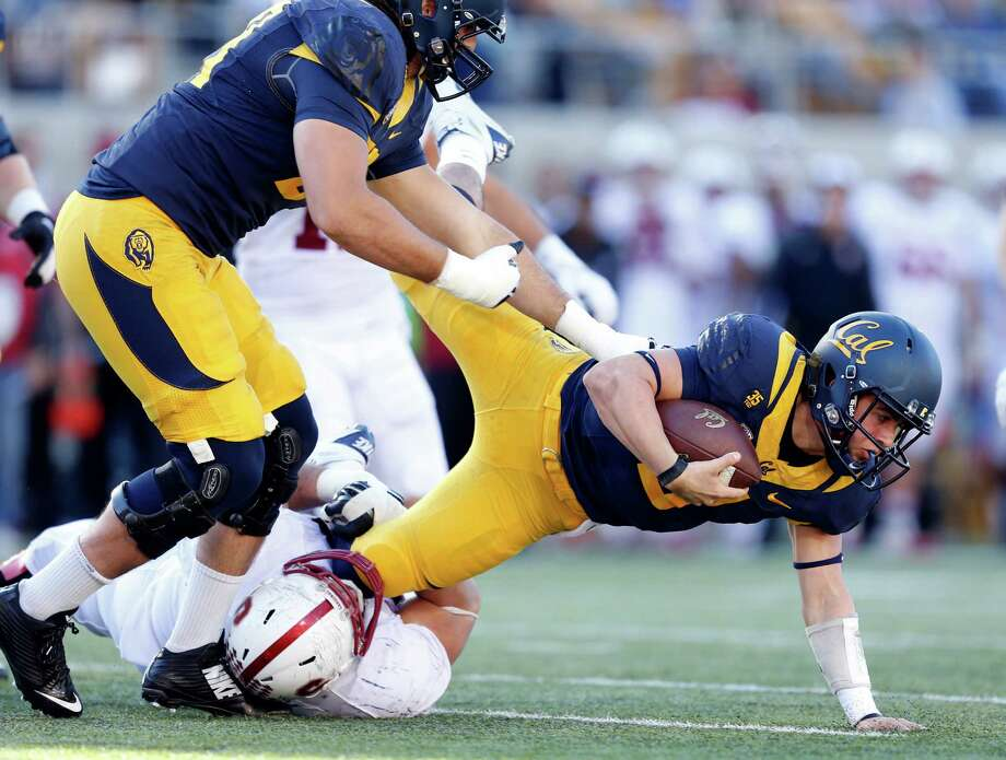 Cal hosts BYU in the its regular-season finale at Memorial Stadium at 1:30 p.m. on Saturday. Catch the game live on Pac-12 Network's Bay Area channel. Photo: Scott Strazzante / The Chronicle / ONLINE_YES