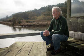"""Mark Dowie, a journalist from Point Reyes Station, says assisted dying is more common in California than most people realize. poses for a portrait at his home in Inverness, California, on November 21, 2014. Since the 1980s, Dowie has helped three terminally ill friends """"die with dignity"""" and he currently advocates for state lawmakers to clarify California's ambiguous right-to-die laws."""