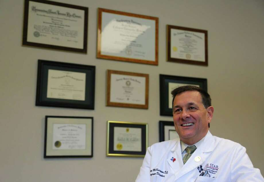"""Residency Program Director and CEO of Lone Star Family Health Center Dr. Stephen McKernan says the expansion is """"great news"""" for many of his patients. Photo: Billy Smith II, Staff / © 2014 Houston Chronicle"""