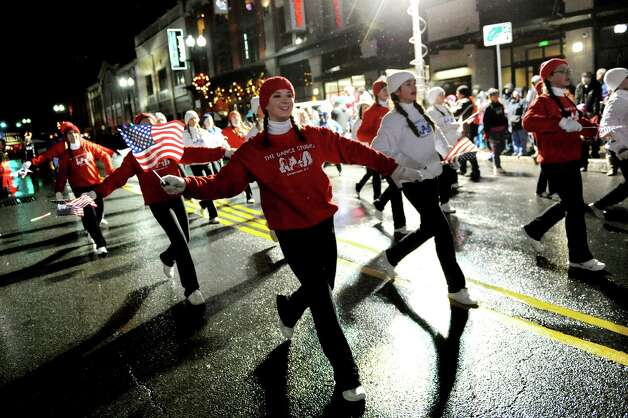 Dancers from the Dance Studio in Guilderland take part in the 47th Annual Gazette Holiday Parade on Saturday, Nov. 22, 2014, in Schenectady, N.Y. (Cindy Schultz / Times Union) Photo: Cindy Schultz / 00029203A
