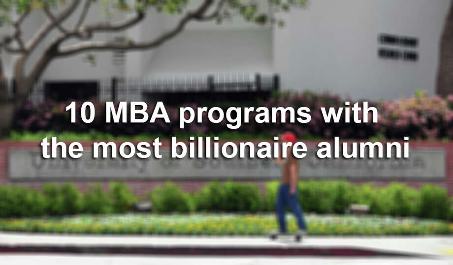 Wealth-X recently ranked the business college MBA programs with the most billionaire alumni. These are the top 10. Photo: FREDERIC J. BROWN, File Photo / 2012 AFP