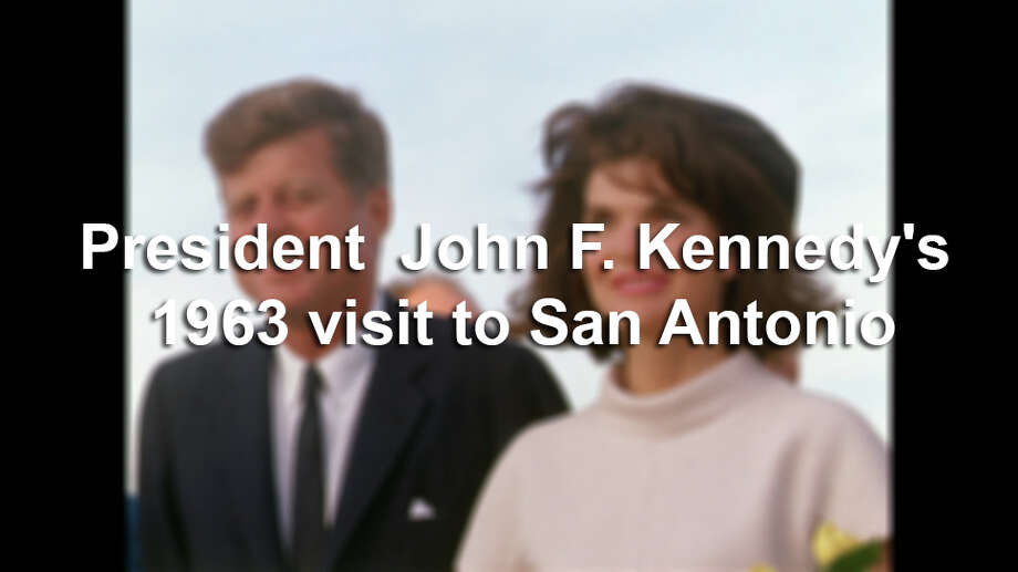 San Antonio, TX USA: President John F. Kennedy and Jacqueline Kennedy arrival in San Antonio. Photo: Tom Atkins, File Photo / Public Domain
