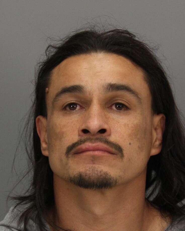Miguel Zaragoza, 39, was arrested Sunday after sneaking onto a restricted loading ramp and stealing a truck at the San Jose airport, police said. Photo: San Jose Police / ONLINE_YES