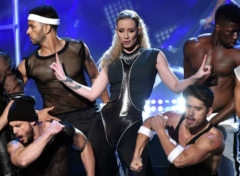 Right now pop stars are in Los Angeles for the American Music Awards; and there is no shortage of star power as multiple performances are lined up for the evening. Iggy Azalea was one of the first artists to hit the stage. Photo: Kevin Winter, Getty Images / 2014 Getty Images