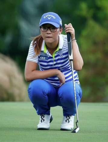 NAPLES, FL - NOVEMBER 23:  Lydia Ko of New Zealand looks over a putt on the 14th hole during the final round of the CME Group Tour Championship at Tiburon Golf Club on November 23, 2014 in Naples, Florida.  (Photo by Sam Greenwood/Getty Images) ORG XMIT: 461922143 Photo: Sam Greenwood / 2014 Getty Images