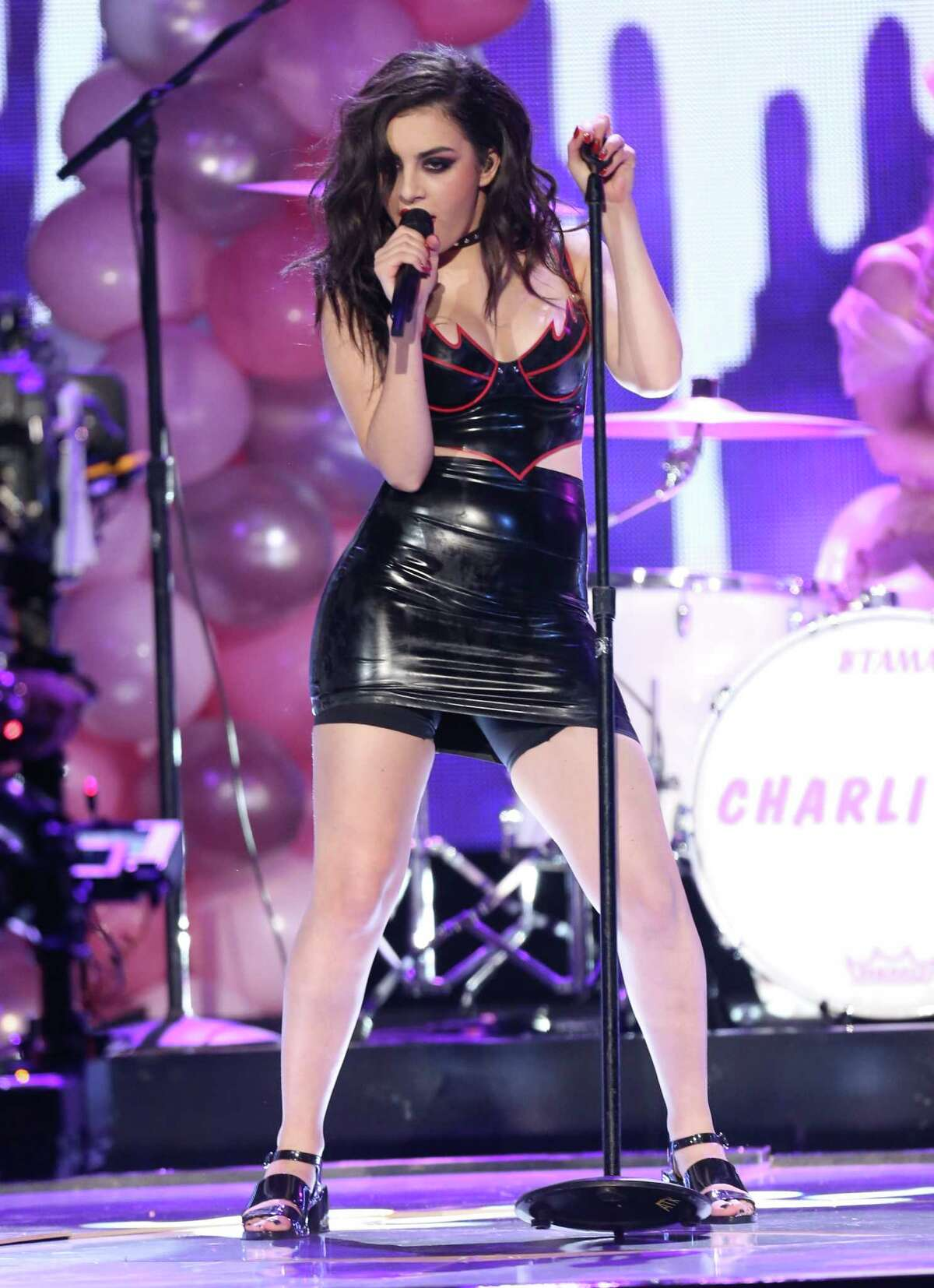 Charli XCX performs on stage at the 42nd annual American Music Awards at Nokia Theatre L.A. Live on Sunday, Nov. 23, 2014, in Los Angeles.