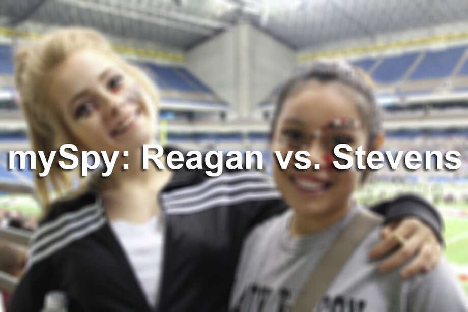 mySpy: Reagan vs. Stevens Photo: File Photo
