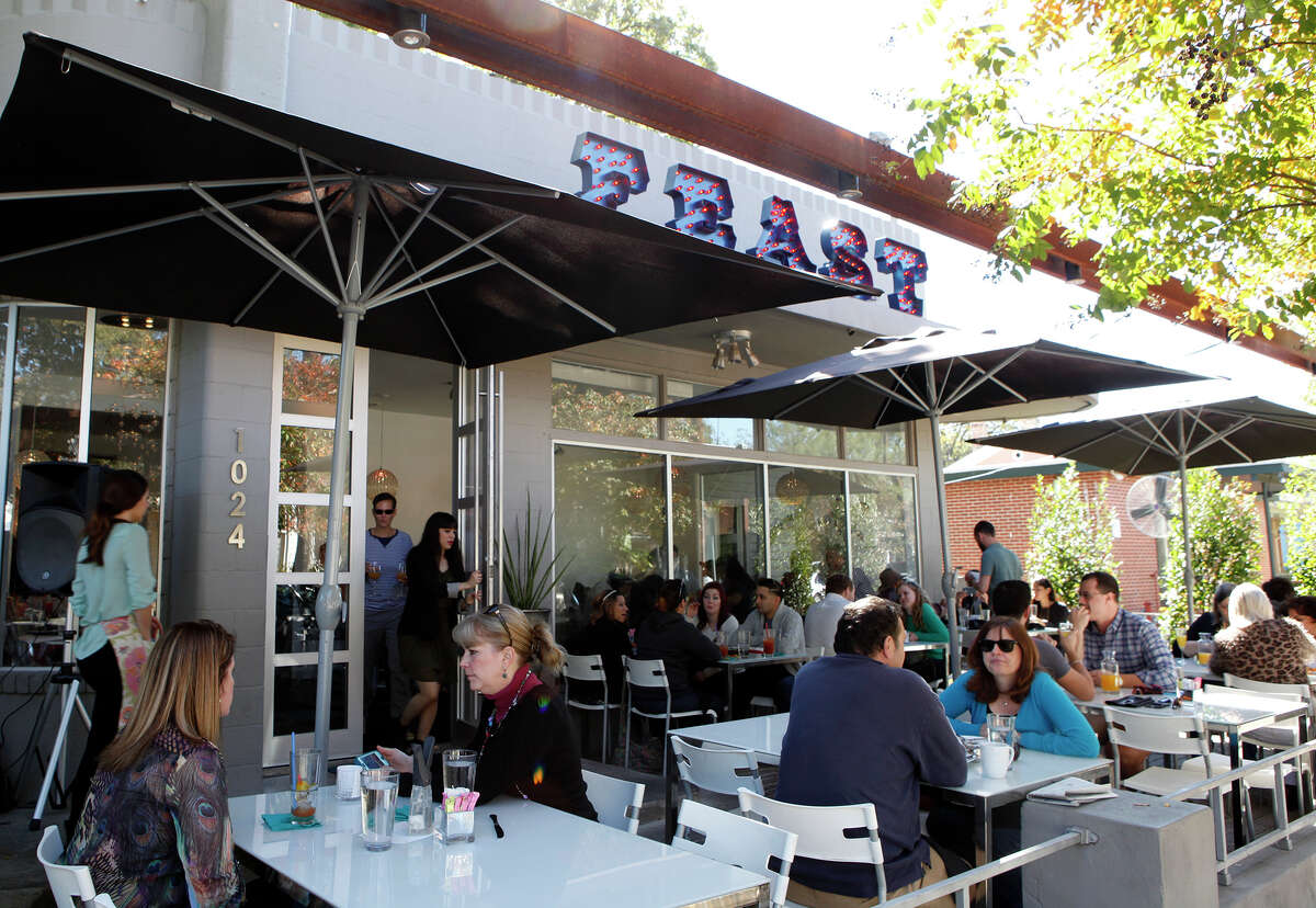 Feast Restaurant on S. Alamo Street offers brunch Sunday, Nov. 23, 2014.