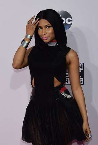 Nicki Minaj can do no wrong with this little black dress. Photo: FREDERIC J. BROWN, GettyImages / AFP