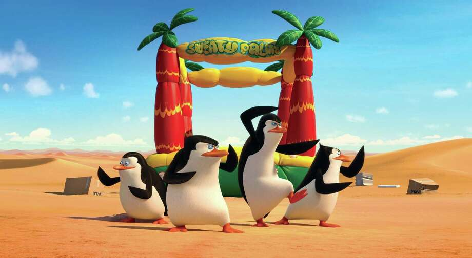 """""""Penguins of Madagascar"""" has enough slapstick for the kids and enough wisecracks for adults to be a winner. Photo: DreamWorks / ONLINE_YES"""
