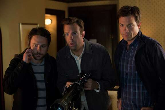 """Charlie Day, from left, Jason Sudeikis and Jason Bateman star in """"Horrible Bosses 2."""""""