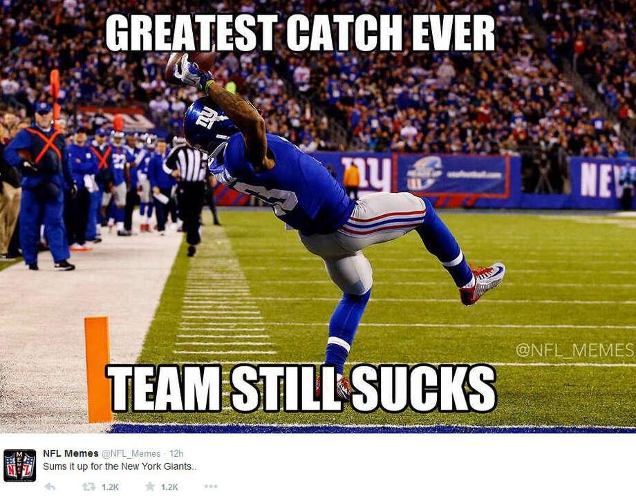 November 23 2014 Dallas Cowboys New York Giants Score