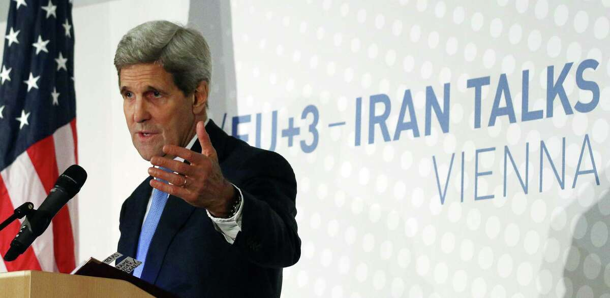 Secretary of State John Kerry urged members of congress not to seek more sanctions against Iran, saying the talks needs more time to proceed.