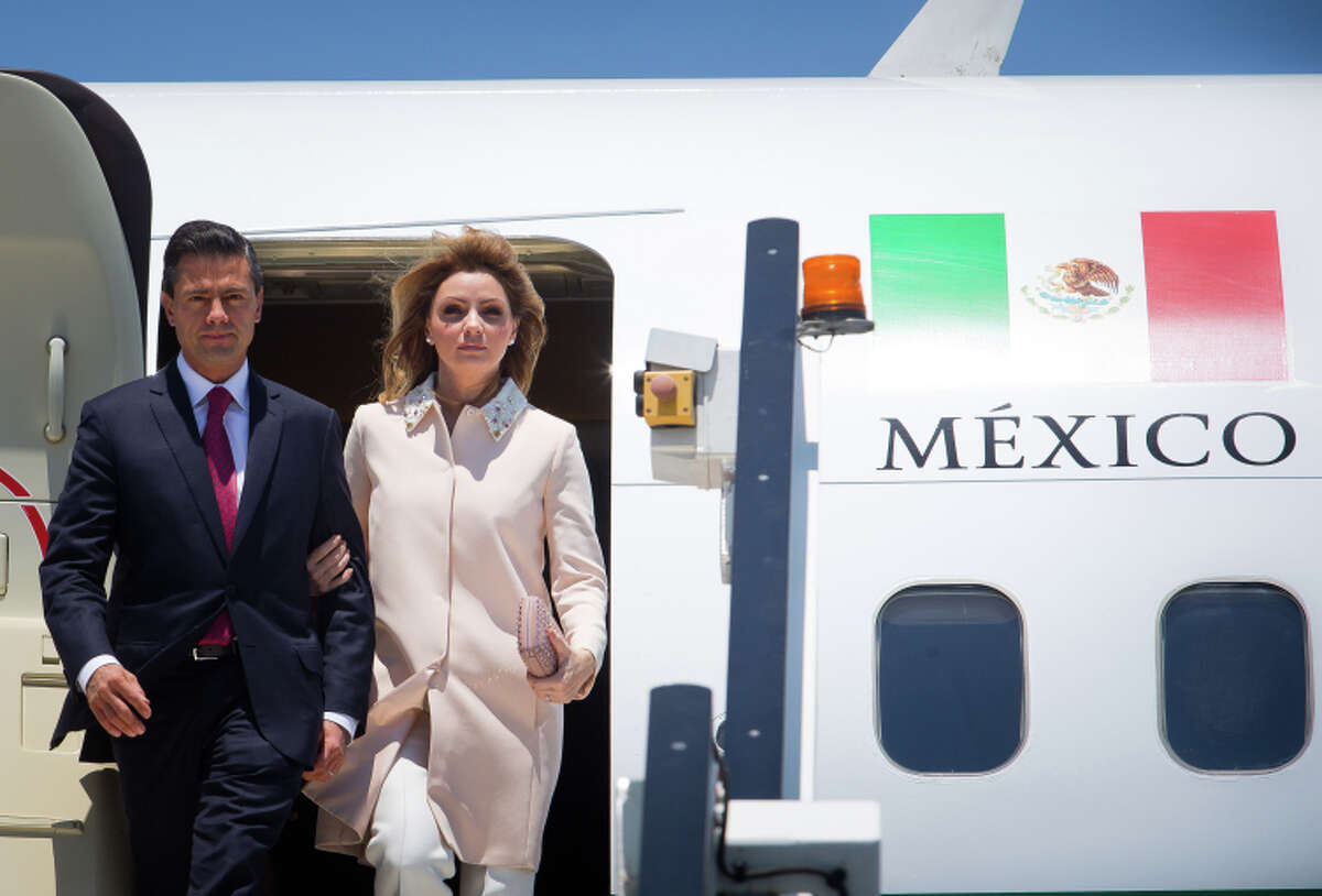 Mexican President Enrique Peña Nieto and first lady Angelica Rivera land in Australia this month.