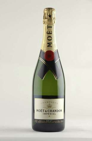 Moet & Chandon Imperial Brut Champagne Thursday Oct. 9, 2014, at the Times Union in Colonie, N.Y. (Will Waldron/Times Union) Photo: WW