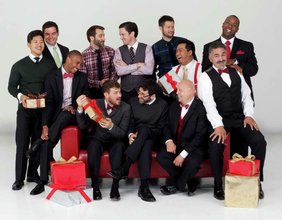 The Grammy-winning a capella group Chanticleer will perform a Christmas concert Saturday evening, Dec. 6, at Christ & Holy Trinity Church. Tickets are $65. Photo: Lisa Kohler, Westport News/Contributed Photo / Westport News