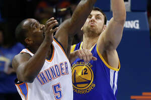 If Bogut sits, so does the center of Warriors' offense - Photo