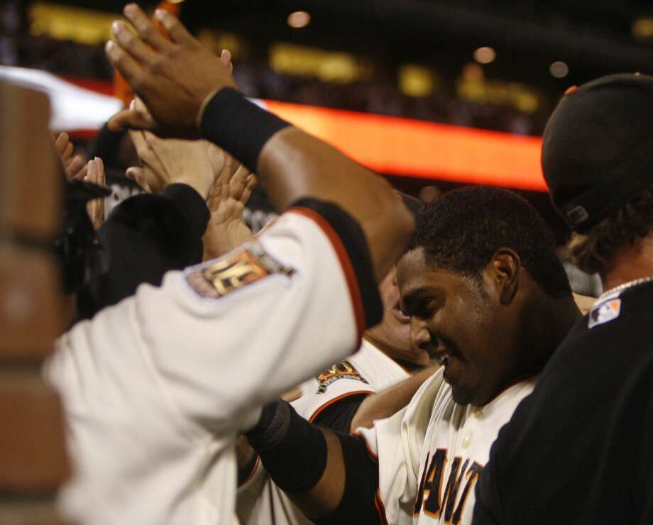 The San Francisco Giants announced on Nov. 24 that Pablo Sandoval will be signing with the Boston Red Sox. Here's a look back at his career with the Giants. Photo: Lea Suzuki, The Chronicle