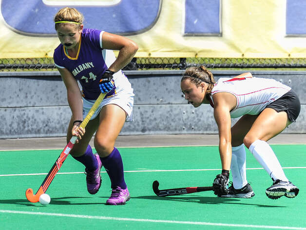 Shenendehowa graduate Anna Bottino of UAlbany field hockey. (Bill Ziskin / UAlbany sports information) Photo: Bill Ziskin / Copyright Bill Ziskin, all rights reserved.