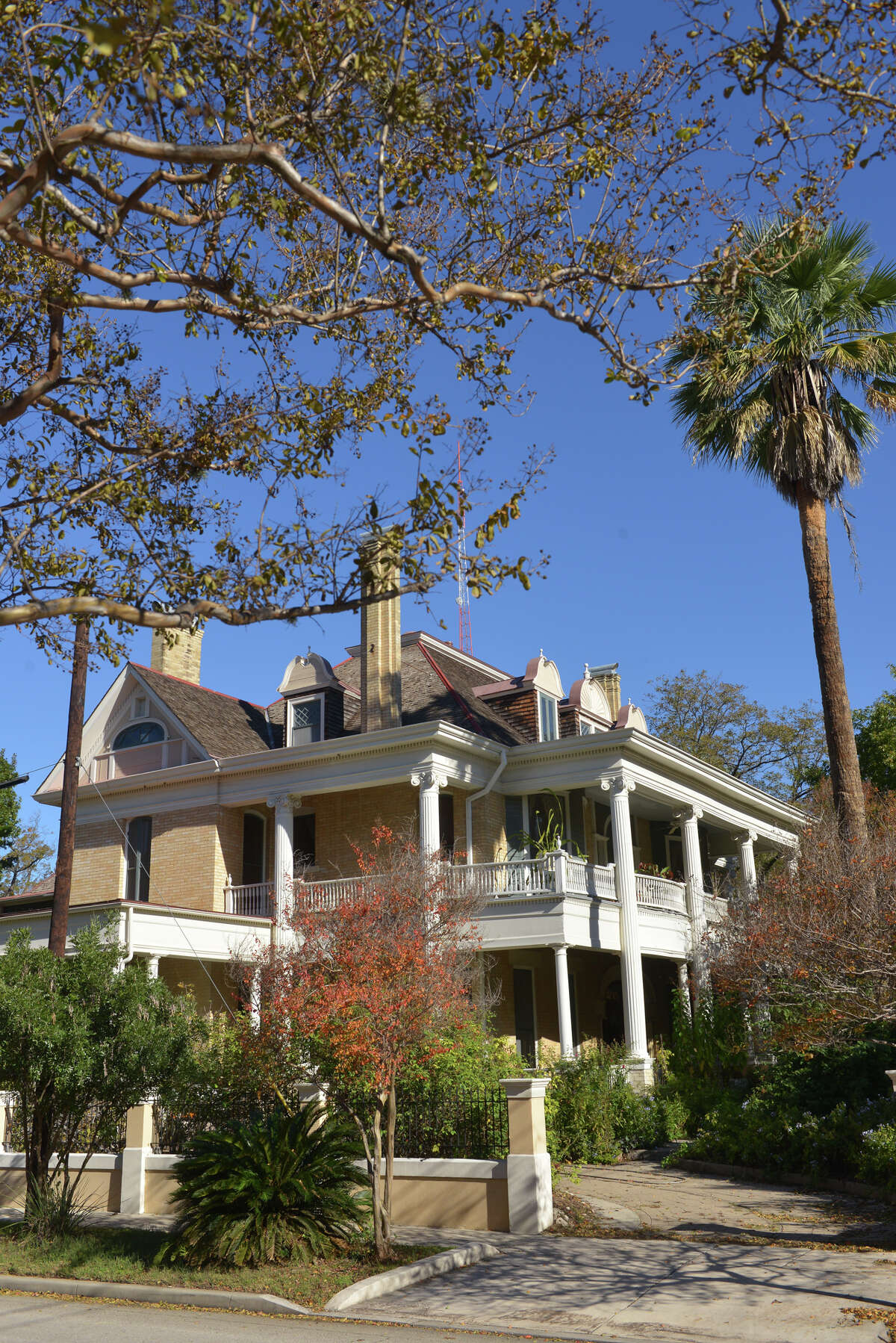 This King William is one of five private residences included in the home tour on Saturday.