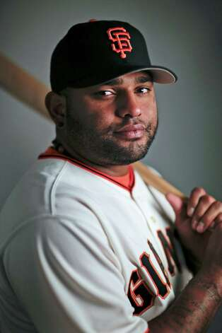 FILE - This 2014, file photo shows San Francisco Giants third baseman Pablo Sandoval. Sandoval and the Boston Red Sox have agreed to a multiyear contract, a person with knowledge of the deal said. The person spoke to The Associated Press on condition of anonymity Monday, Nov. 24, 2014,  because the Red Sox had not announced the agreement. (AP Photo/ Gregory Bull, File) ORG XMIT: NY179 Photo: Gregory Bull / MLBPV AP